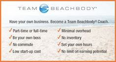 BeachBody Coach - LOVE your job while becoming physically & financially fit!