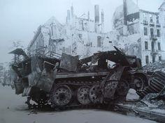 Germany Ww2, Ww2 Pictures, People Art, Luftwaffe, Military Vehicles, Tanks, Berlin, Fall, War