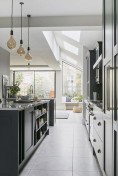 Our designers are still busy working remotely on exciting kitchen projects with design consultations taking place via. Shaker Style Kitchens, Shaker Kitchen, Black Kitchens, Open Plan Kitchen, New Kitchen, Kitchen Ideas, Kitchen Inspiration, John Lewis Kitchen, John Lewis Home