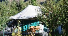 #Camping. Your discovery of the lesser-known Himalayas can begin at the #Banjara Camp in the #Sangla Valley. At a height of 2,700 mts, this Retreat is surrounded by towering mountains on all sides. Long walks to discover the amazing fauna and flora of the valley, treks to view snow covered #Himalayan peaks, angling for trout, experiencing some of the local culture and traditions, rock climbing, rappelling and river crossing are only some of the delights that are on offer. #Adventure #India