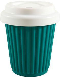 Take away coffee essential. byo cup aqua regular (230ml/8oz) $13.00