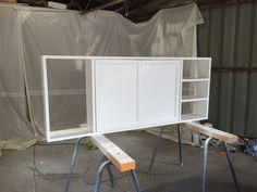 TV cupboard- paint