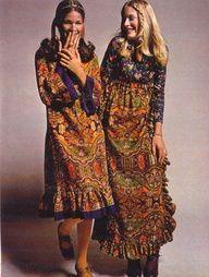 Finnfemme: Seventeen Magazine's Boho Peasant Look of 1970 Seventies Fashion, 60s And 70s Fashion, Retro Fashion, Teen Fashion, Vintage Fashion, Fashion Ideas, Fashion Quotes, Fashion Black, Fashion Outfits