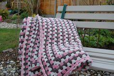 CRAFTY RED: Crochet Blanket