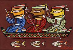 Untitled-Jamini Roy