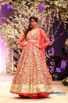 Anarkali by Jyotsna Tiwari at India Bridal Fashion Week '13