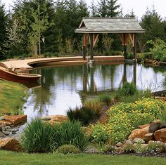 Landscape Water Features | Eugene water feature designers | Eugene Landscape Architects
