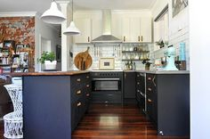 Pokey, with no bench space or storage and mice living under the pantry (!), Hayley Kessner knew a good project when she saw one. Married to a builder and an interior designer herself, the dark, dank and uninviting kitchen of her new home in Perth was in dire need of renovation, and she had the …