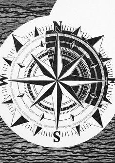 Compass Rebecca Blair Art