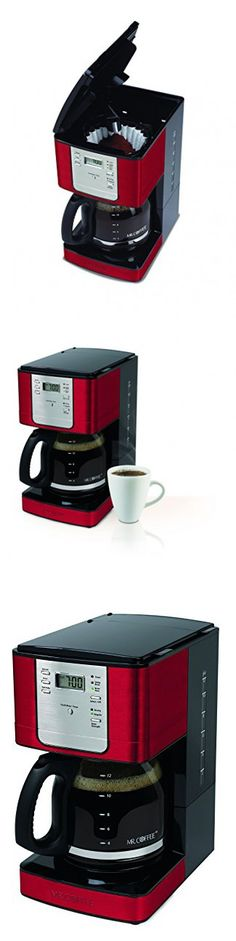 Red Coffee Maker Sears : Coffee maker, Cups and Red on Pinterest