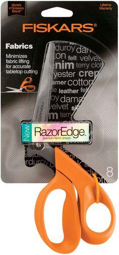 Fiskars Razoredge 8In Fabric Shears For Tabletop