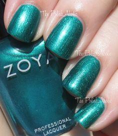 Giovanni by Zoya - The PolishAholic: Zoya Fall 2013 Satin Collection Swatches