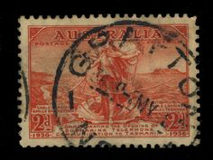 AUSTRALIA - 1936 - CDS OF GRAFTON (NSW) ON 2d SCARLET SG159