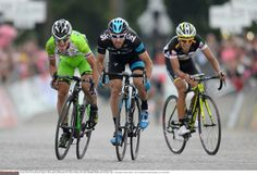 Giro 2014 - Enrico Battaglin on his way to giving Bardiani CSF its second stage win