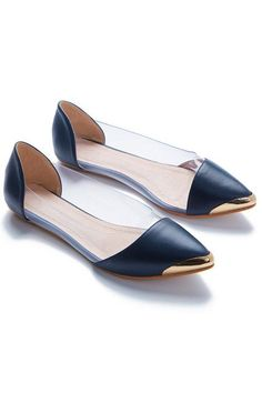 Flats These ballet flats are one way to start off 2015 on the right foot. #refinery29 http://www.refinery29.com/budget-work-shoes#slide-15