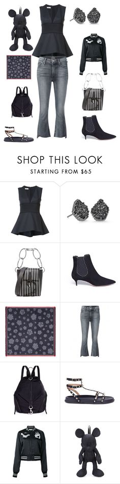"""""""do with it"""" by emmamegan-5678 ❤ liked on Polyvore featuring Kendra Scott, 3.1 Phillip Lim, Aquazzura, Kenzo, Mother, Rebecca Minkoff, Valentino, Off-White, Christopher Ræburn and modern"""