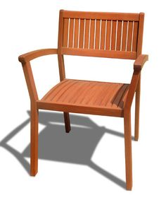 Love this Vifah Stacking Dining Chair - Set of Four by VIFAH on #zulily! #zulilyfinds
