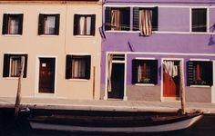 Burano homes by IrenaS, via Flickr