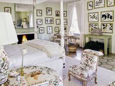 Lee Radziwill manhattan bedroom