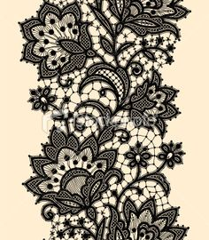 lace pattern for leg, reminds me of doodle art