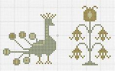 Small & easy cross stitch freebies
