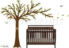 Tree decal for our nursery, by FriendshipFalls on Etsy