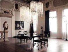 déco intérieur gothique | déco gothique chandelier meubles