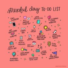stressful days are a common occurrence in most people's lives. Give this list a look at start doing things that substract stress from your life, not add!