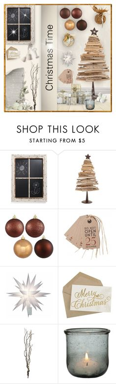 """Christmas Time #2"" by sally-simpson ❤ liked on Polyvore featuring interior, interiors, interior design, home, home decor, interior decorating, VIP International, East of India, CB2 and Lumière"