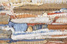 Couching II (detail) by Gwen Hedley