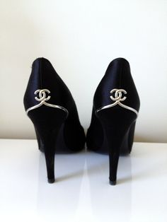 chanel shoes. I'm pinning again cuz...well...look at them!!!