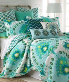Look at this Bukhara Quilt Set on #zulily today!