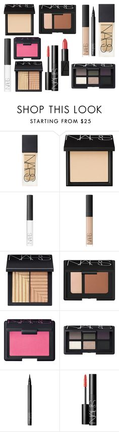 """""""Full Face NARS"""" by shoppings9 ❤ liked on Polyvore featuring beauty and NARS Cosmetics"""