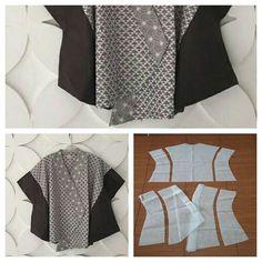 16 Ideas For Sewing Clothes Patterns Women Link Blouse Batik, Batik Dress, Batik Fashion, Diy Fashion, Womens Fashion, Blouse Patterns, Clothing Patterns, Sewing Clothes, Diy Clothes