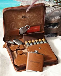 Weekend Leather Cigar Case.