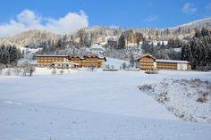 Die #Sonnenterrasse #Ferienwelt #Glocknerhof #bergimdrautal #Drautal #Kärnten #Austria im #Winter