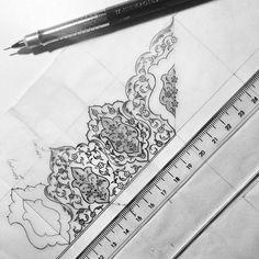 # # Tezhip croquis # # dessin noir et blanc # artwork # # mywork conception ✏ ️ # # istanbul turkey # dilarayarcı