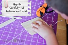 Picture to Puzzle – Easy Popsicle Stick Craft