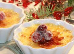 Recipe: Maple Cranberry Crème Brûlée | PCC Natural Markets #dessert #gf