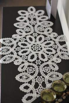 Crochet handmade by Kateryna G.: Crochet doily (bruges lace)