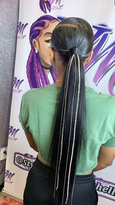 Pin on Pin on Weave Ponytail Hairstyles, Ponytail Styles, Baddie Hairstyles, Black Girls Hairstyles, Straight Hairstyles, Curly Hair Styles, Natural Hair Styles, Long Ponytail Weave, Model Hairstyles