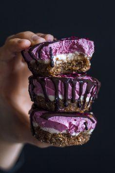 Raw Vegan Strawberry Lime Cheesecake | Inspiration: Cailin Rose