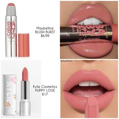 Makeup hacks beauty secrets make up eye ideas Beauty Make-up, Beauty Dupes, Beauty Hacks, Beauty Secrets, Skincare Dupes, Drugstore Makeup Dupes, Lipstick Colors, Lip Colors, Nude Lipstick