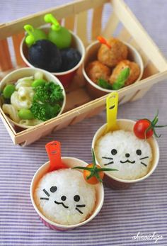 Ice cup bento