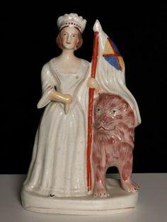 Стаффордширские статуэтки Королева Виктория