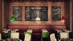 SOCHI SOLIS HOTEL ITALIAN RESTAURANT by Mert Duyal, via Behance
