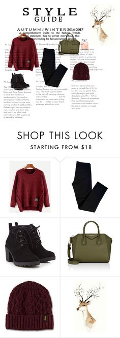 """""""💕"""" by elina-almqvist ❤ liked on Polyvore featuring J Brand, Red Herring, Givenchy and Dr. Martens"""