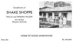 Shake Shoppe...I loved their corndogs:)