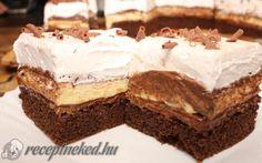 Kinder bueno Vanilla Cake, Tiramisu, Pie, Ethnic Recipes, Oreos, Food, Cakes, Beauty, Kitchens