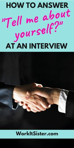 """How to answer """"Tell Me About Yourself"""" in an interview. Key interview skills that will help you answer difficult questions. Don't fear the """"tell me about yourself"""" question any more! Time to ace your job interview! Interview Answers, Interview Skills, Interview Questions, Interview Guide, Interview Techniques, Interview Preparation, Preparing For An Interview, Win Money, Career Advice"""